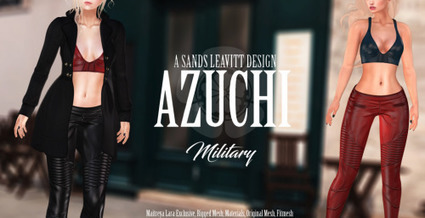 Azuchi for the October round of UBER... - UBER SL   亗  Second Life Fashion Addict  亗   Scoop.it