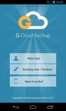 Backup & Restore Android Data On Cloud With G Cloud Backup Automatically | Just Android! | Scoop.it
