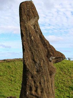 Easter Island's moai statues face environmental threat | Aux origines | Scoop.it