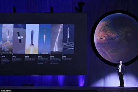 Elon Musk's rocket to 'make humans a multiplanetary species' | The NewSpace Daily | Scoop.it