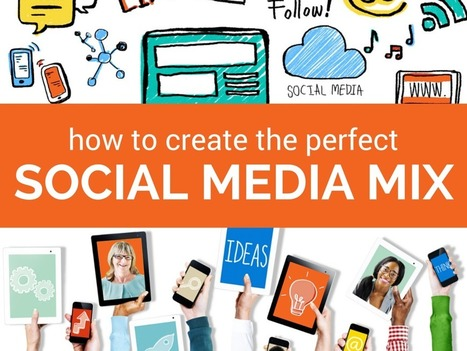 How to Create the Perfect Social Media Marketing Mix | Communication | Scoop.it