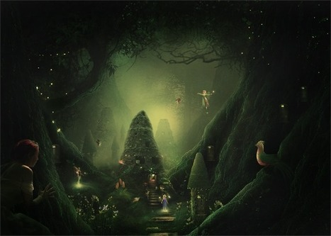 How to Create a Night Jungle Scenery in Photoshop   The Official Photoshop Roadmap Journal   Scoop.it