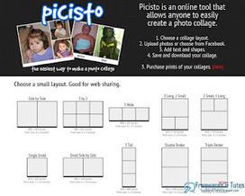 Picisto : un service en ligne pratique pour créer des collages photos | TICE & FLE | Scoop.it