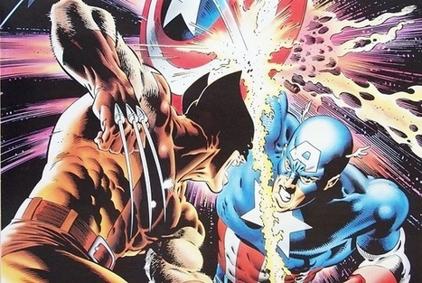 Top Five Captain America/Wolverine Fights | Comics Should Be Good @ CBR | The Art Of Comics | Scoop.it
