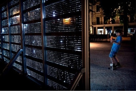 Water-Activated LED Lights Create Illuminated Graffiti Art ... | Light Art | Scoop.it