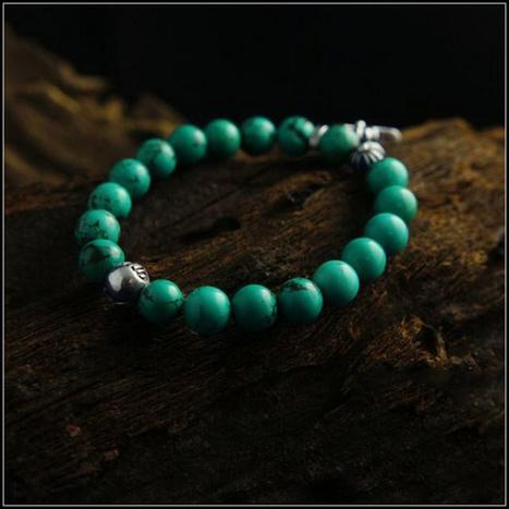 Chrome Hearts Cheap 8mm Cross Pendant Green Turquoise Bracelet [Cross Beads Bracelet] - $209.00 : Cheap Chrome Hearts, Chrome Hearts Online Shop | Boutique | Scoop.it