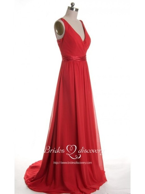 Excellent Red Open Back Prom Dresses With V Neck Are Available | About Bridesdiscovery | Scoop.it