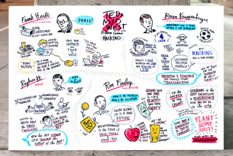 A field guide to TED graphic notes | TED Blog | My visual talk | Scoop.it