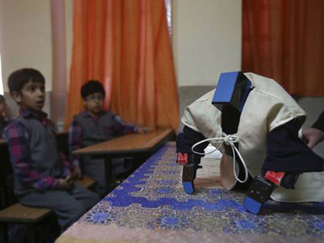 Un professeur iranien invente un robot pour la prière | Une nouvelle civilisation de Robots | Scoop.it