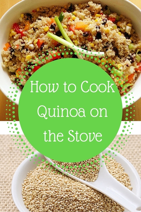How to Cook Quinoa on the Stove | Best Easy Recipes | Scoop.it