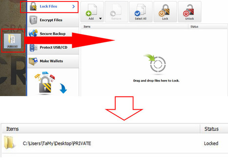 How to Lock Your Files and Folders in Windows 8 Using Folder Lock | What's New In Folder Lock 7? | Scoop.it