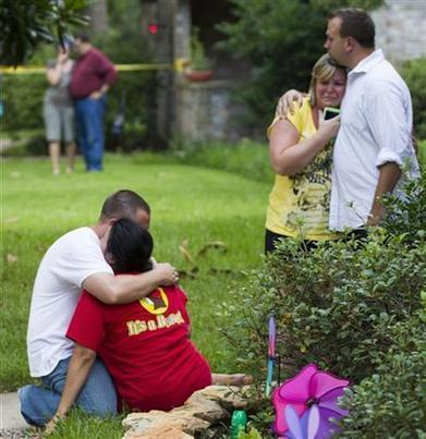 6 dead, 4 children, in suburban Houston shooting