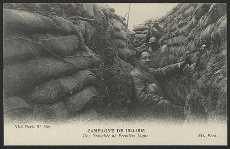 Sur les traces des Poilus, de Juigné aux tranchées   Service de documentation du Centre National sur la Grande Guerre   Scoop.it