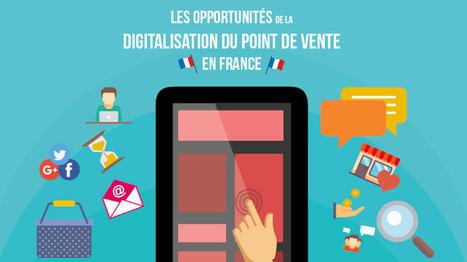Infographie : les opportunités de la digitalisation du point de vente   Distribution, Enseignes et points de vente - www.codoc.fr   Scoop.it