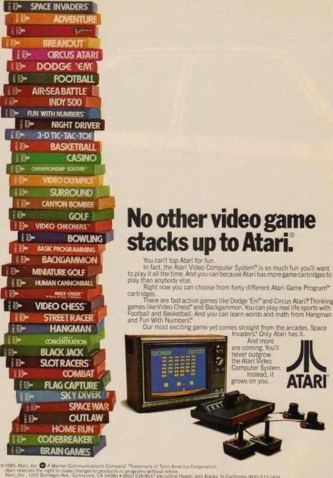 Video Game Ads, 1980s / 1990s | All Geeks | Scoop.it