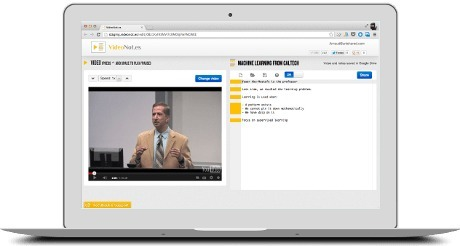 VideoNot.es: The easiest way to take notes synchronized with videos! | Time to Learn | Scoop.it