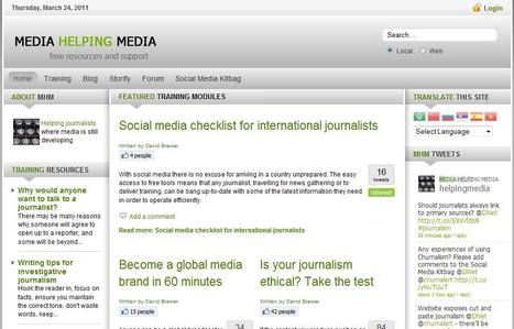 Media Helping Media | Top sites for journalists | Scoop.it