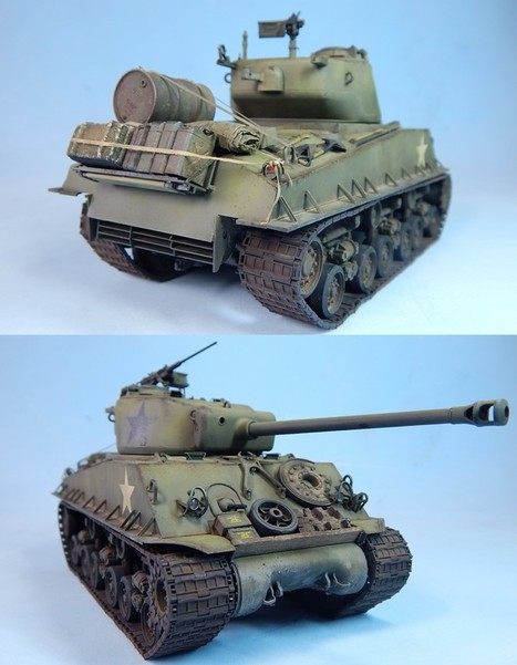 Tamiya 1/35th M4A3E8 'Easy Eight' | Military Miniatures H.Q. | Scoop.it