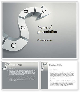 3D Road Concept PowerPoint Template | PowerPoint Presentations and Templates | Scoop.it