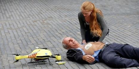 "Un ""drone ambulance"" contre les accidents cardiaques   Patrick Fornas   Scoop.it"