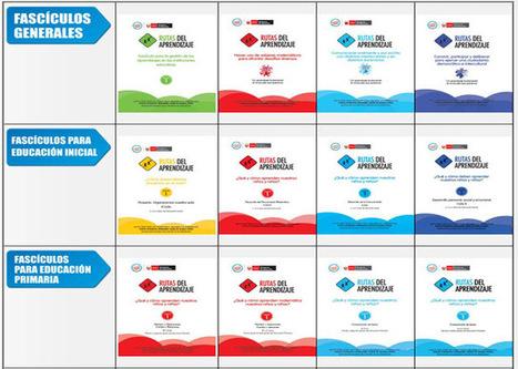 Las rutas del aprendizaje ~ Blog Carpeta Pedagógica | Rutas de aprendizaje | Scoop.it
