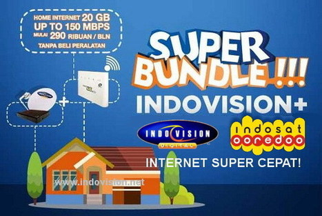 Indovision Rangkul Indosat Hadirkan Internet 4G LTE Super Cepat! | Indovision Digital Television | Scoop.it
