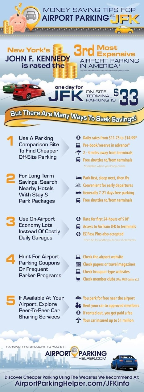 Tips to Get Best Cheap JFK Long Term Parking Rates | All Infographics | Scoop.it