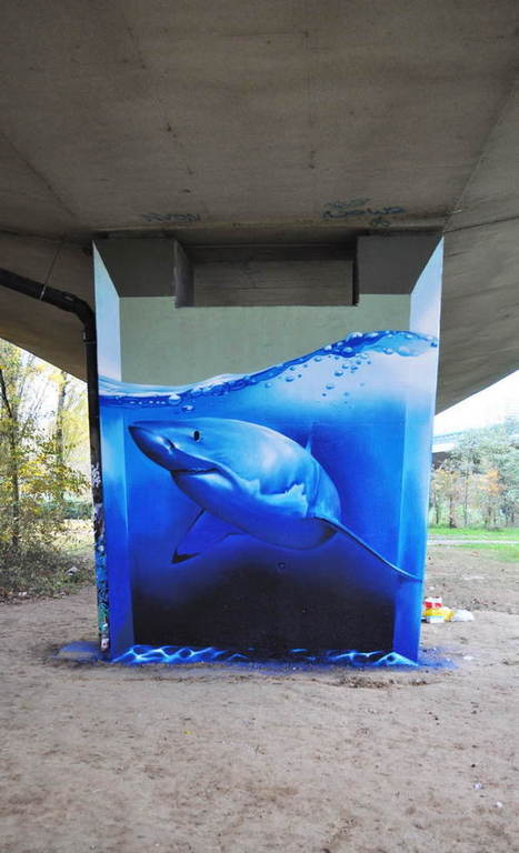 The 40 Best Examples Of Street Art In 2013 | educARTE | Scoop.it