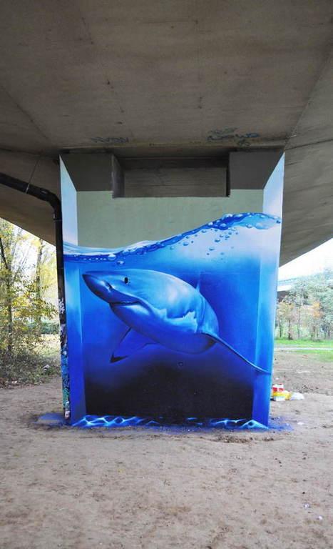 The 40 Best Examples Of Street Art In 2013 | educARTE | Scoop.it