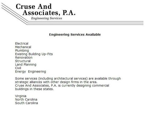 Services Offered, Cruse and Associates | Cruse and Associates | Scoop.it