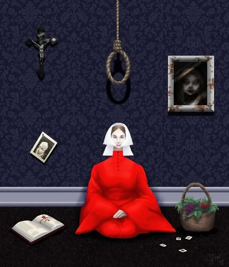 themes novel handmaids tale Essay about handmaids tale and 1984  it gives a much needed visual connection with the themes stated in the novel in the handmaid's tale,.