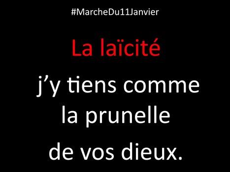#MarcheDu11Janvier | Merveilles - Marvels | Scoop.it