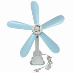 Buy Kawachi 5 Blades Adjustable Clip Fan - Sky Blue & White at Shopper52 | Cheap Online Shopping | Scoop.it