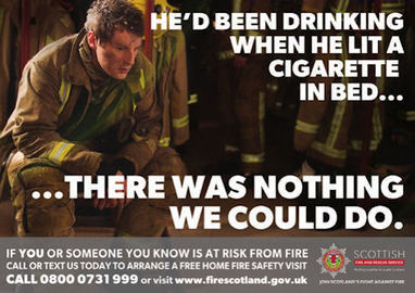 New Year message from the Scottish Fire and Rescue Service - The Edinburgh Reporter | Fire Prevention Scotland | Scoop.it