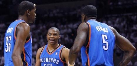 Thunder quebra mando de quadra dos Spurs e fica perto da final da NBA | esportes | Scoop.it