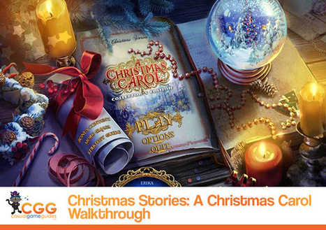 Christmas Stories: A Christmas Carol Walkthrough: From CasualGameGuides.com | Casual Game Walkthroughs | Scoop.it
