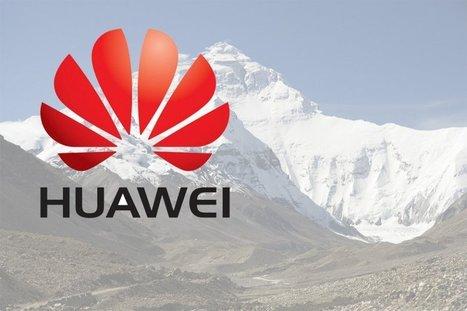 Huawei y China Mobile llevaron 4G a cima del Everest | Montaña | Scoop.it