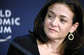 Sheryl Sandberg Continues to Champion Female Leadership | Women @ Work | Scoop.it