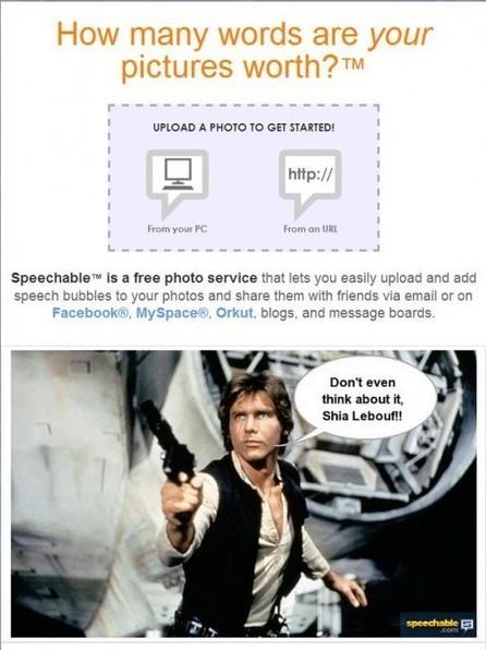 Faire des bulles sur ses photos, Speechable | Geeks | Scoop.it