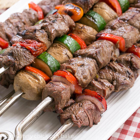 Beef Teriyaki Kabobs | An Asian inspired recipe for the BBQ | Food | Scoop.it