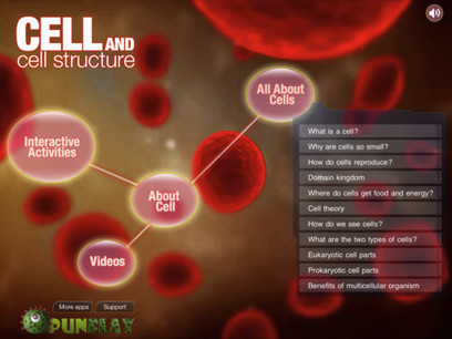 Cell and Cell Structure for iPad on the iTunes App Store | Edtech PK-12 | Scoop.it