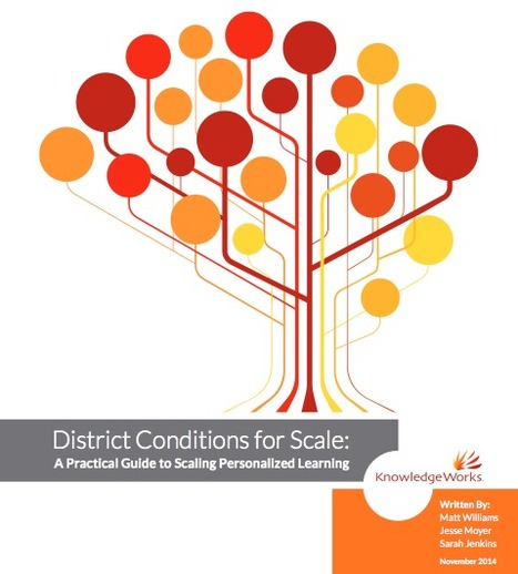 District Conditions for Scale: A Practical Guide to Scaling Personalized Learning | Personalize Learning (#plearnchat) | Scoop.it