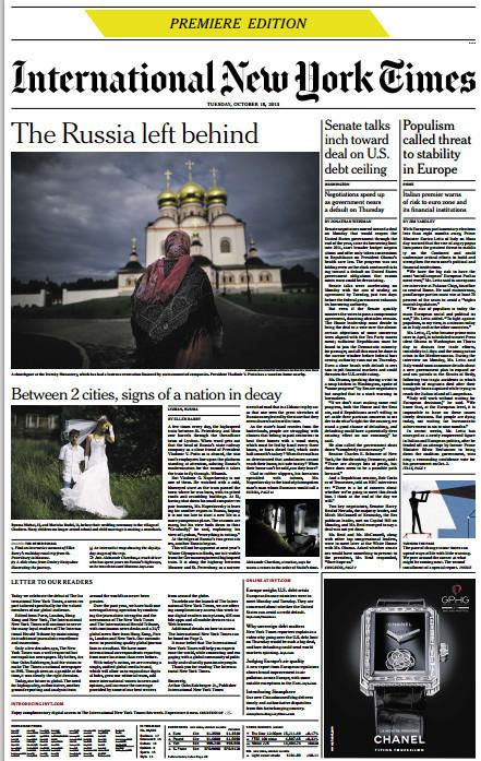 Le «New York Times» veut rayonner à travers sa marque | DocPresseESJ | Scoop.it