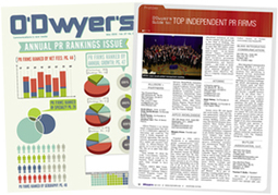 Top PR Firm Rankings | Public Relations Agency Rankings by O'Dwyer's Public Relations News | Global consulting | Scoop.it