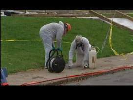 Kids used asbestos as sidewalk chalk - WIVB | Asbestos | Scoop.it