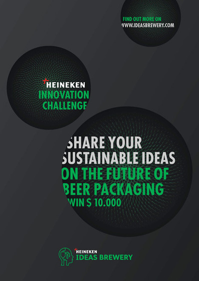 HEINEKEN Ideas Brewery CHALLENGE: The Future of Beer Packaging - Core77 | whynotnotice | Scoop.it