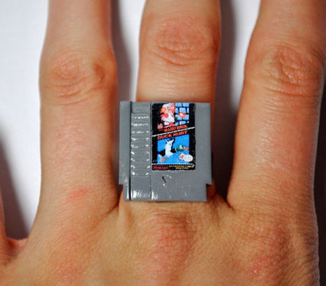 Geektastic NES Cartridge Rings | All Geeks | Scoop.it