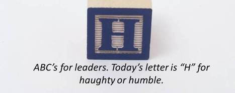 How to be Humble without being a Loser | Leadership, Execution and Strategy | Scoop.it