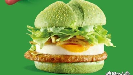 McDonalds releases questionably green 'Angry Birds' burger | Business Studies | Scoop.it