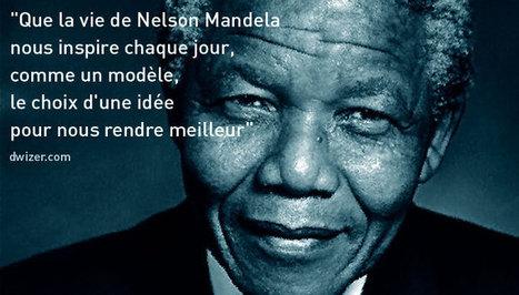 #Mandela, hommage mondial : les phrases des grands de ce monde. - Dwizer Web Booster | Culture, tendances, écologie, high Tech | Scoop.it
